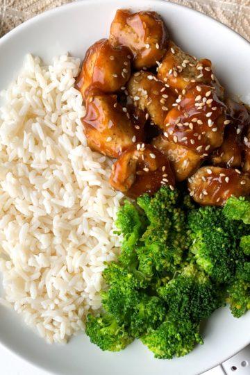 healthy general tsos chicken