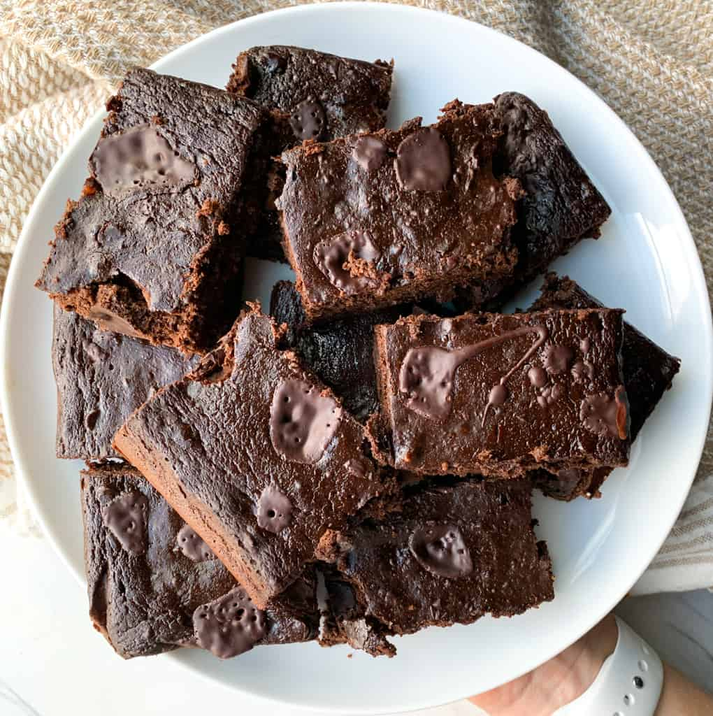 secret ingredient gluten free fudge brownies