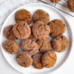 healthy soft baked gingersnaps