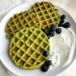 best spinach banana waffles