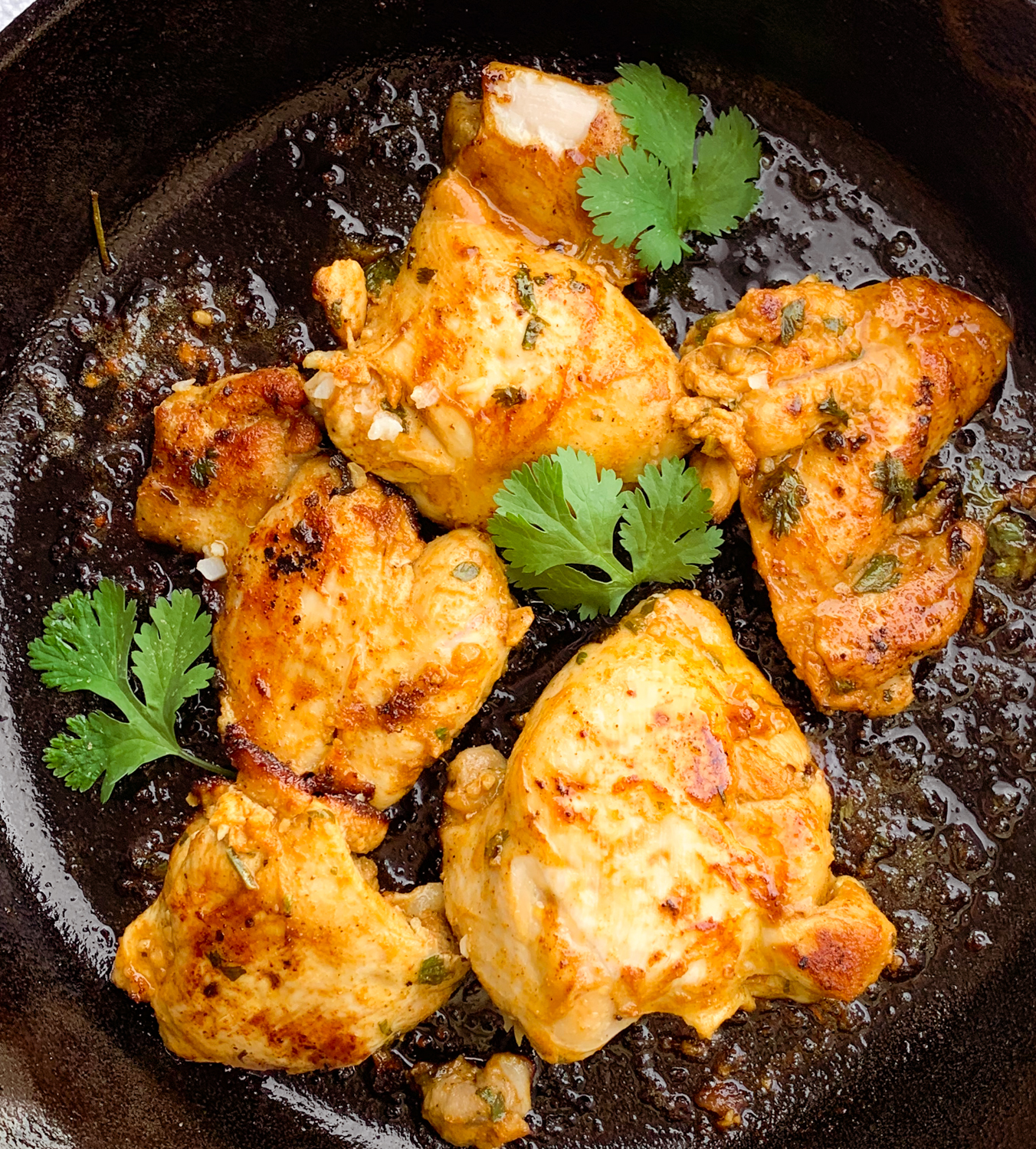 cilantro lime chicken thighs