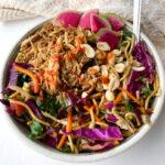 asian chicken noodle salad